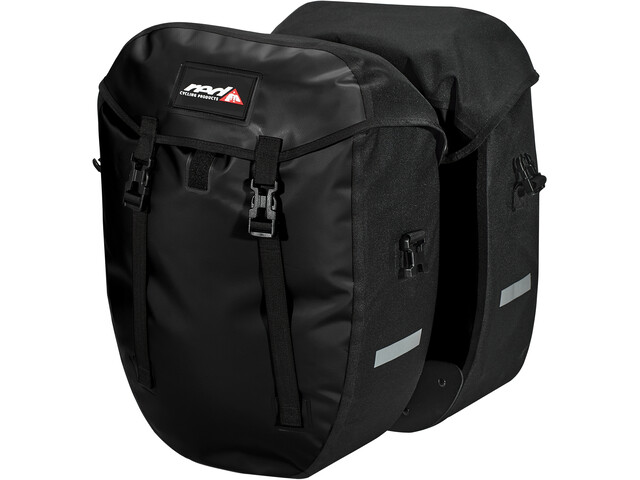 Red Cycling Products Urban Twin II Carry Bag 1 Pair, czarny